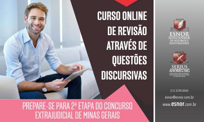 Curso online de revisão através de Questões Discursivas