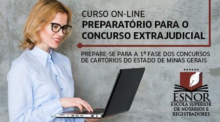 Curso Intensivo Preparatório para Concurso de Cartório - MG - Edital 01/2019